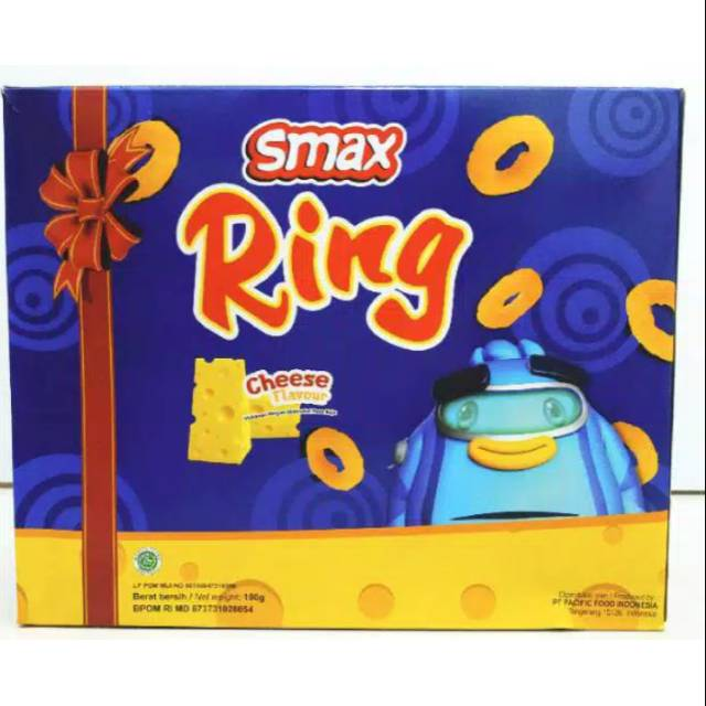 Smax Ring Cheese Flavour Gift Box Snack
