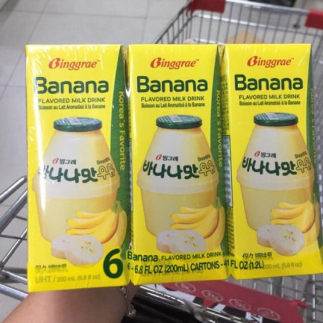 Ready Binggrae Banana Milk Korea Shopee Indonesia