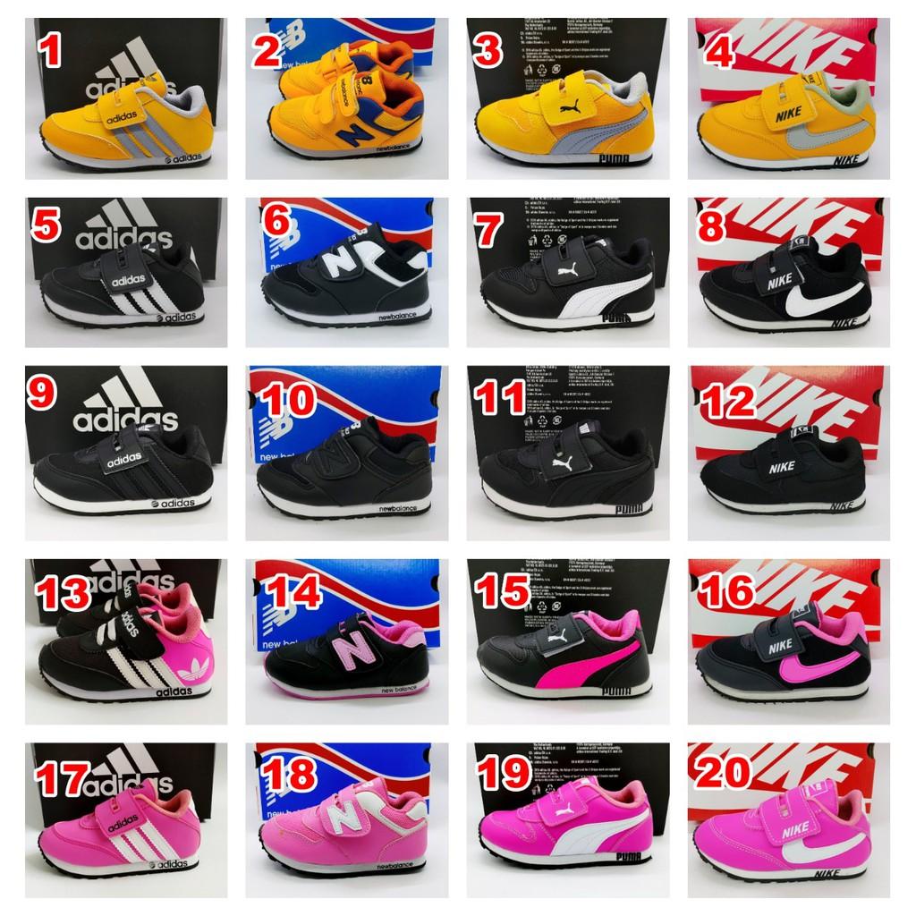 Sepatu Sekolah Anak Murah Sneakers Anak Laki Laki Perempuan Tk Sd