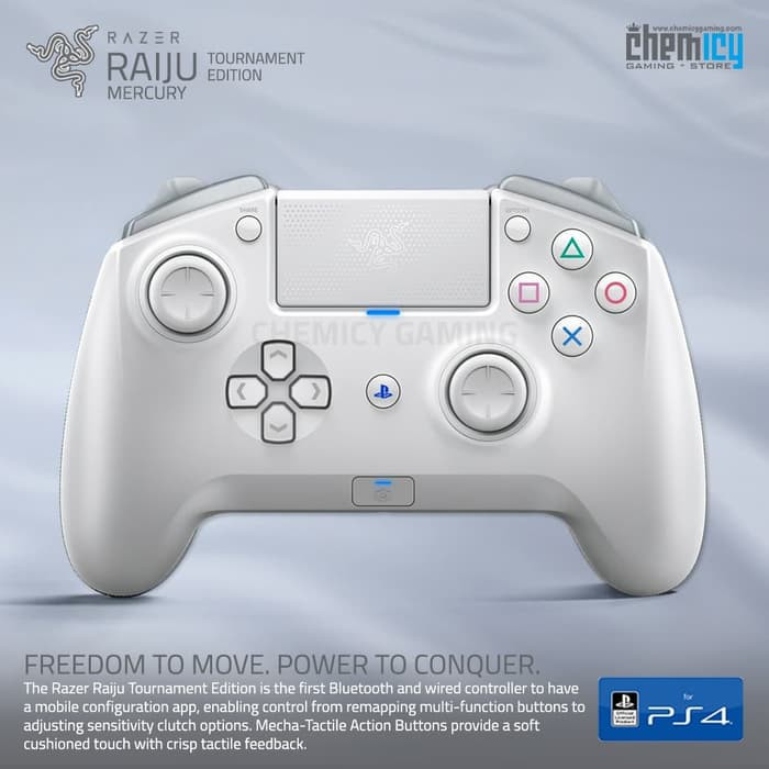 Razer Raiju Tournament Edition Te Mercury White Gaming Controller Shopee Indonesia Scegli la consegna gratis per riparmiare di più. razer raiju tournament edition te mercury white gaming controller