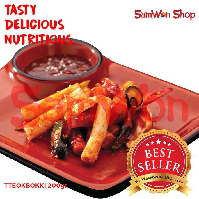 ENAK SAMWON TTEOKBOKKI / TOKPOKI 200 Gr Fresh - Makanan Korea terjamin | Shopee Indonesia