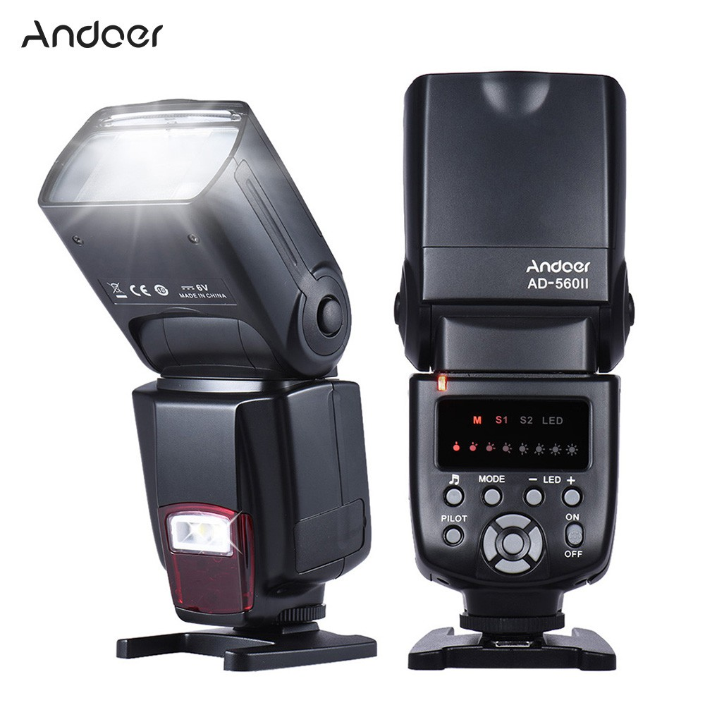 Andoer Set Remote Control Wireless 16ch Pemicu Lampu Flash:1 Transmitter+6 Receiver+Kabel Sync 30m | Shopee Indonesia