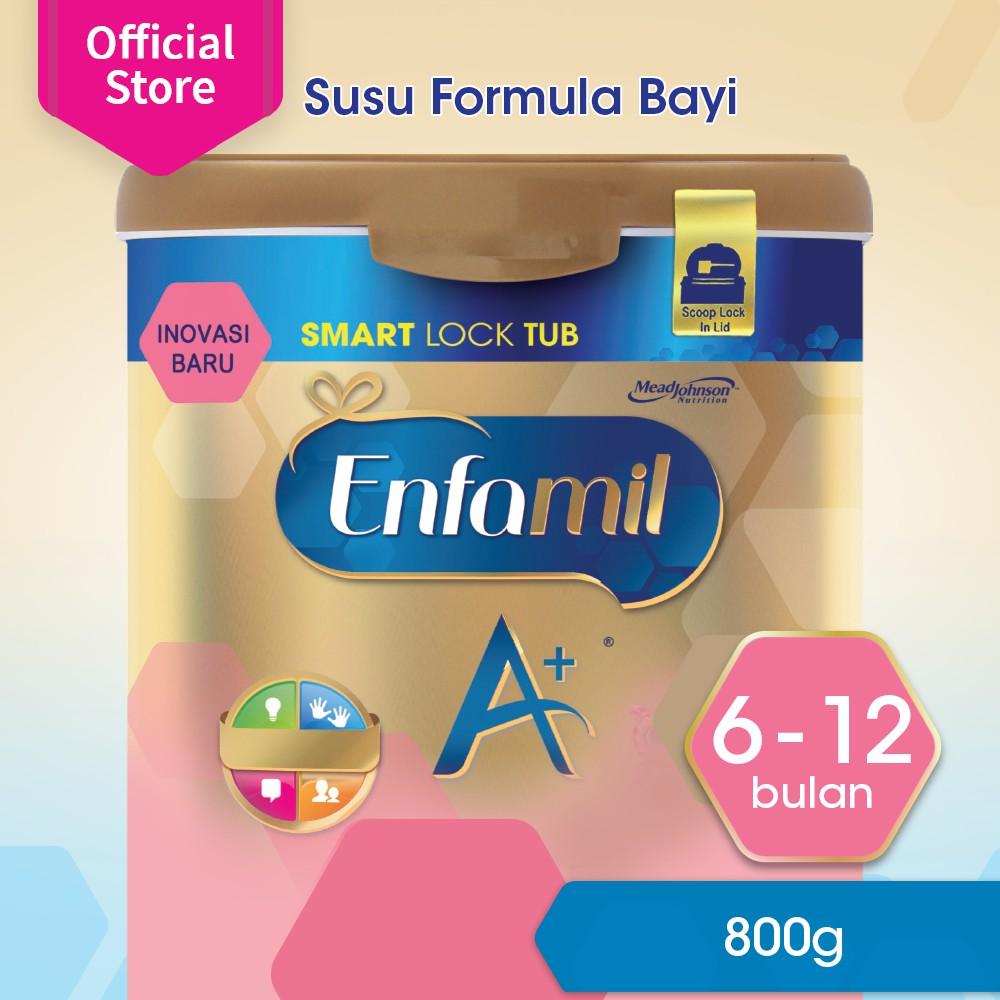 Enfagrow A 3 1800g Susu Formula Rasa Vanila Shopee Indonesia 3a 400gr