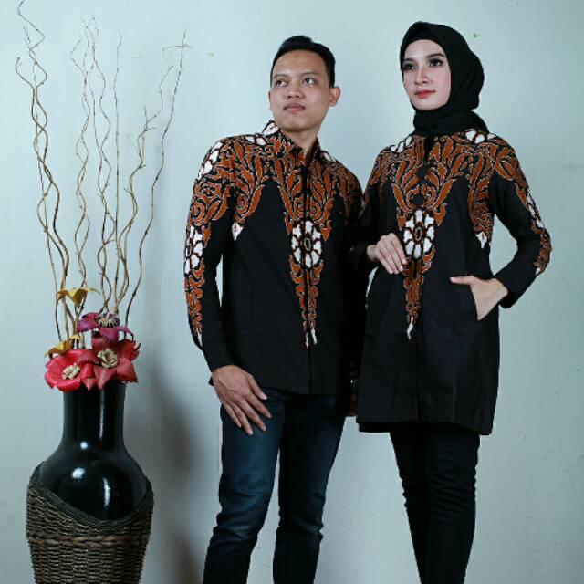 Baju Batik Blouse Tunik Atasan Wanita Baru Parang Katun Pekalongan   Shopee Indonesia
