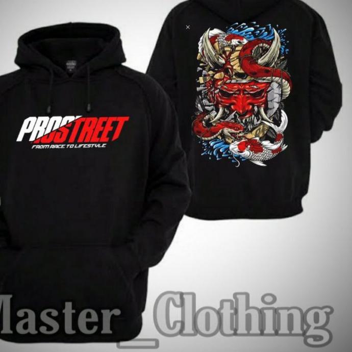 ( Lagi Promo ) qb-53 > Hoodie Jaket Sweater PROSTREET THE LAST KOHAKU Keren Sekali !!