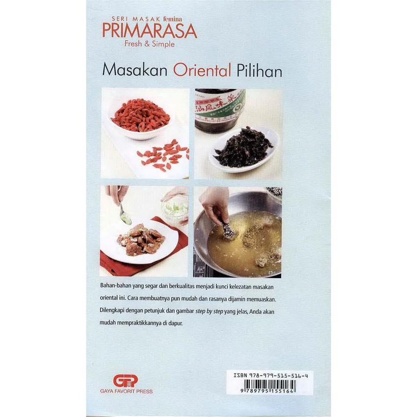 Seri Masak Primarasa Fresh Simple Masakan Oriental Pilihan