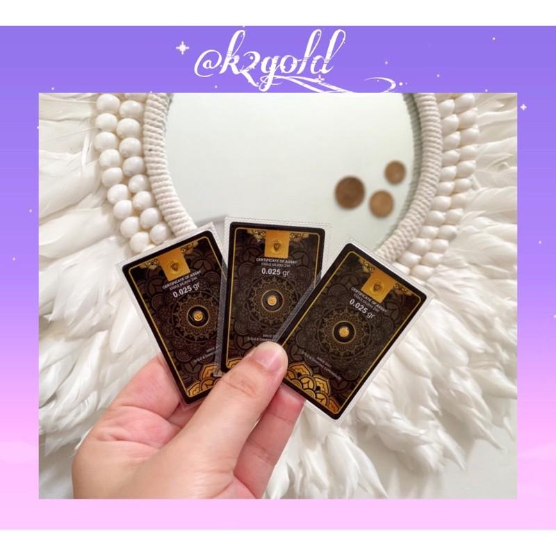 Mini Gold 0.025 gram