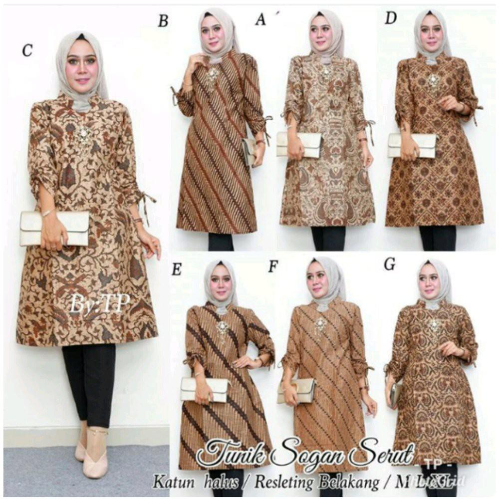 Batik Couple Sintia Sogan Shopee Indonesia Tas Import Harriet Gratis Hijab Instan Najwa