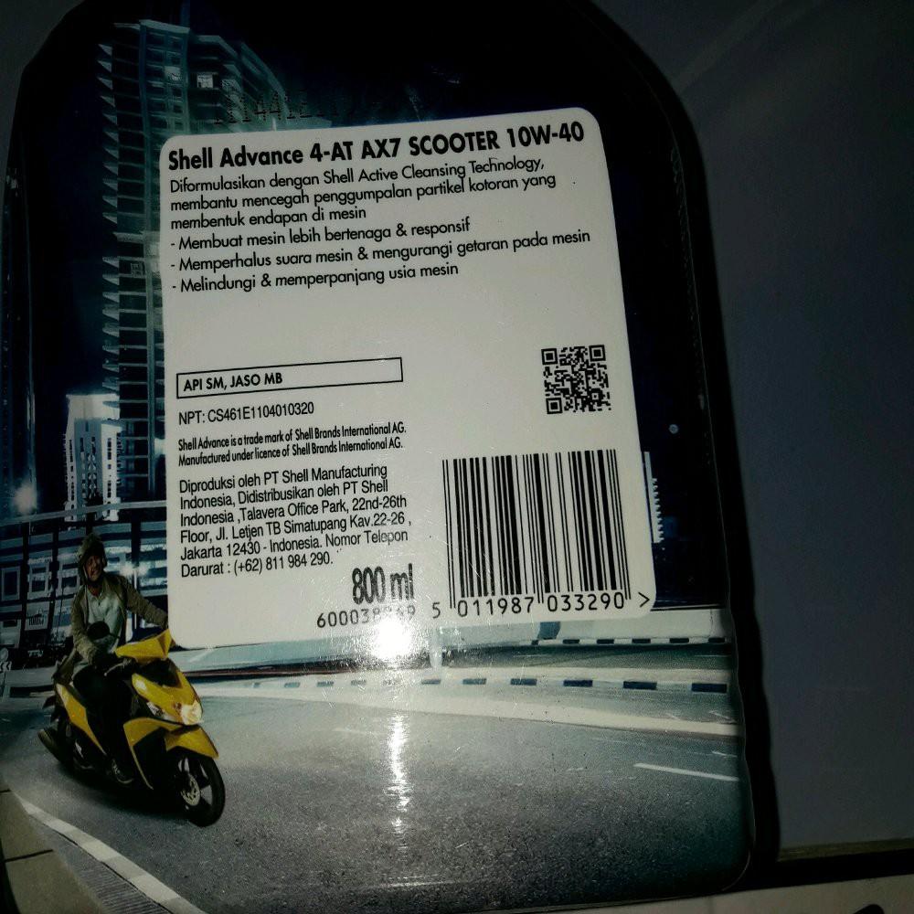 Best Promo Paket Oli Shell Advance Ax7 Scooter 08l Gear Oil Mesin Matic Dan Gir Semua Shopee Indonesia