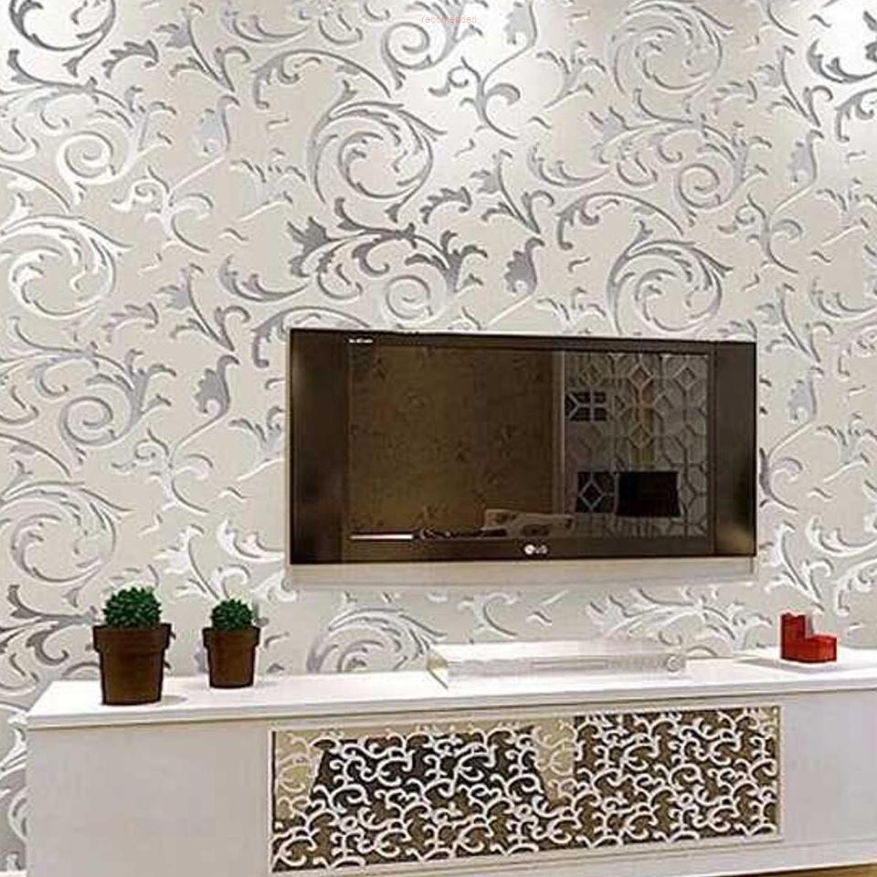 Wallpaper Dinding Motif Floral Classic European Style RFOMHZR4SV
