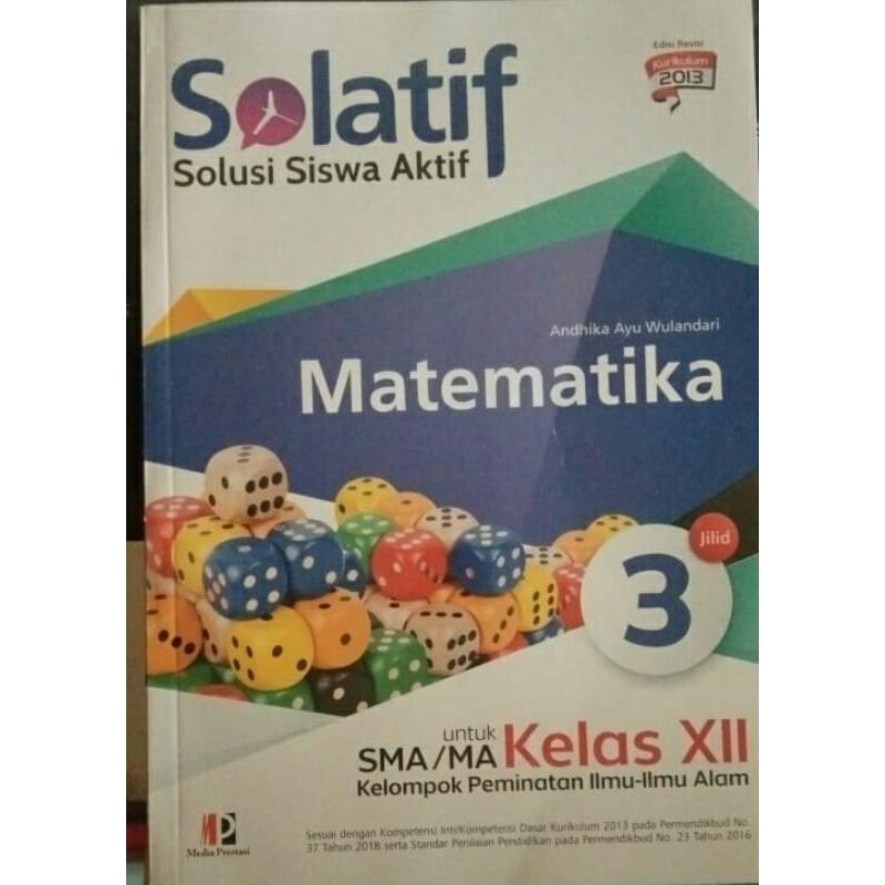 Buku Solatif Matematika Peminatan Sma Kelas 12 Shopee Indonesia
