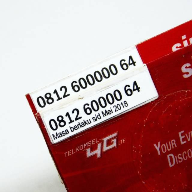 Nomor Cantik COUPLE SIMPATI Telkomsel 11Digit 12Digit LIMITED EDITION Pasangan Kwarted Panca NOL 4G | Shopee Indonesia