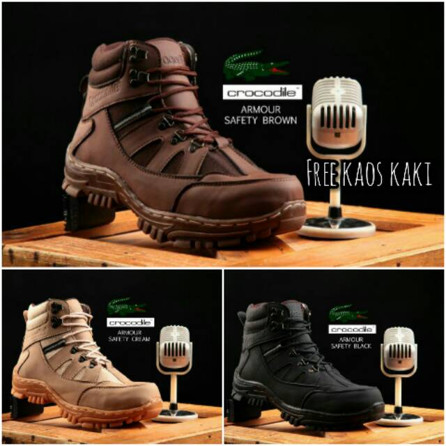 Sepatu Safety Pria Sepatu Pria Catenzo DM 102  1cde6513db