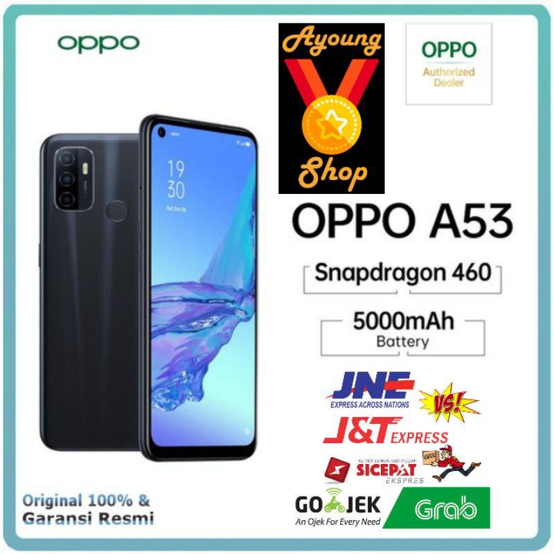 OPPO A53 2020 4/64 & 6/128GB GARANSI RESMI OPPO | Shopee ...