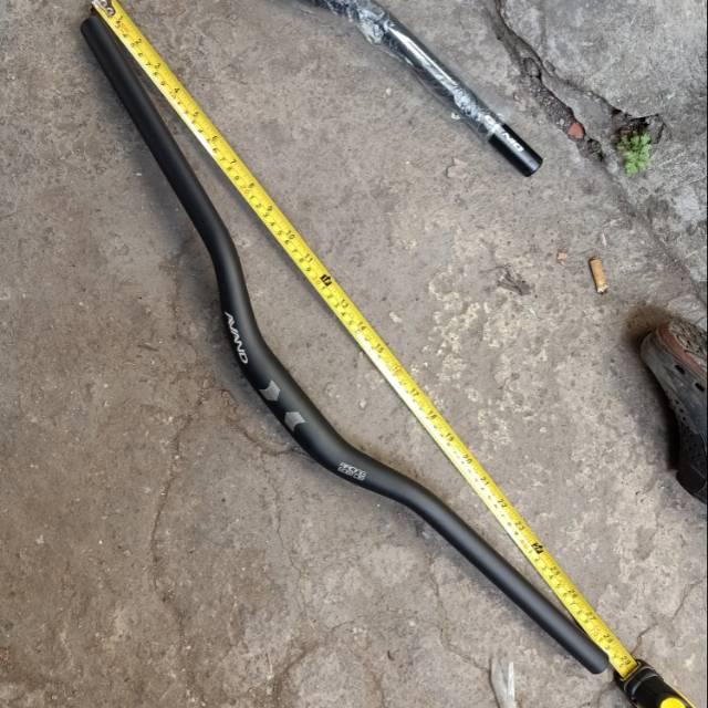 Stang sepeda oversize handle lebar alloy stang sepeda