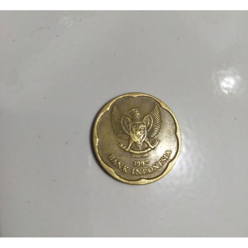Uang Kuno 500 Melati