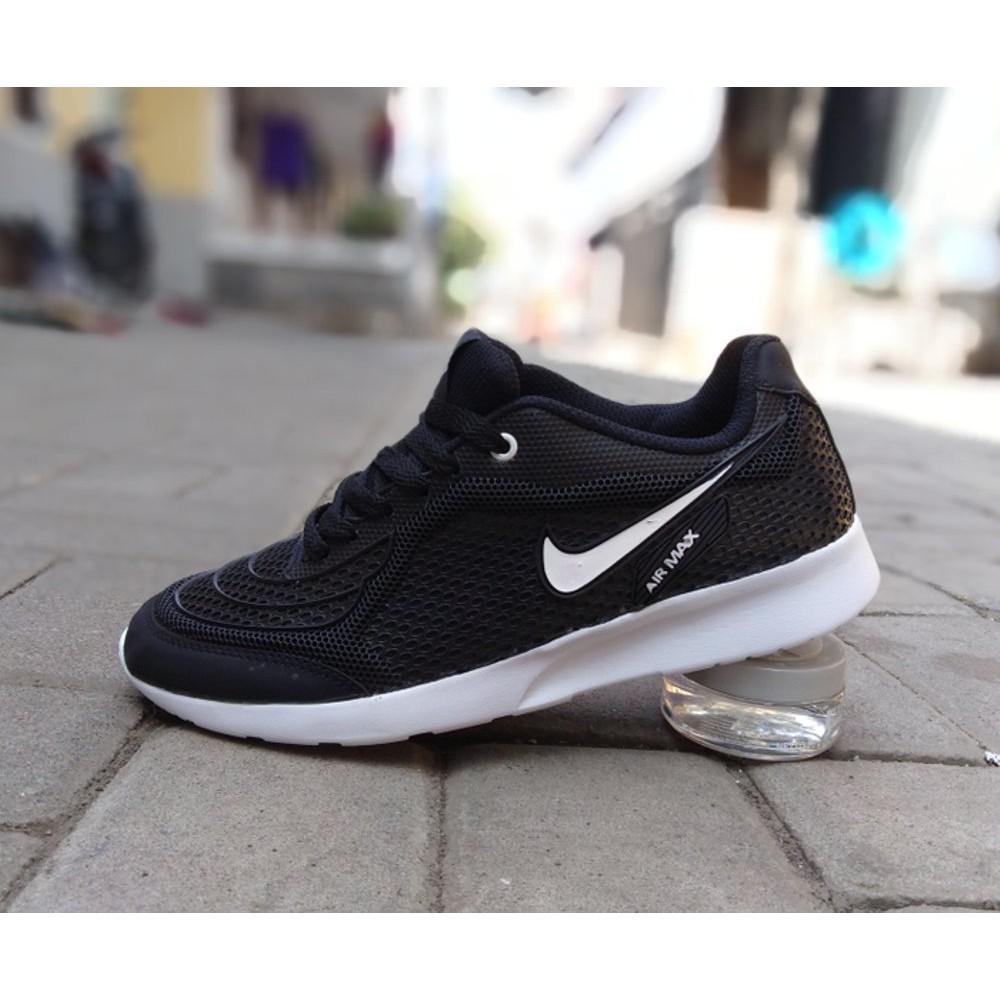 Sepatu Nike Air Max Airmax Running Casual Sport Abu Putih Pria Dewasa  Termurah Grade Original  04b911aef0