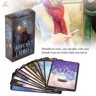 1 Box 78 Cards Witch Tarot Deck Future Fate Indicator ...