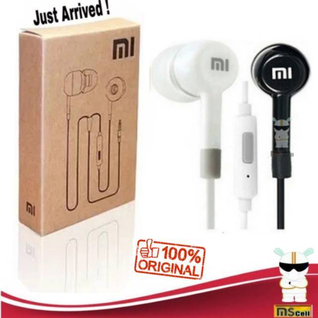 Handfree xiaomi redmi piston 2 original 100 1 2 3 4 4x 5x note earphone earpod   Shopee Indonesia