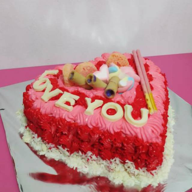 Kue Anniversary Kue Ulang Tahun Untuk Pacar Kekasih Istri Shopee Indonesia