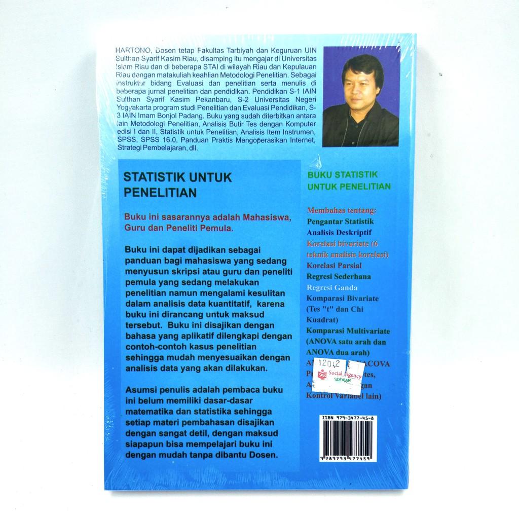 Statistik Untuk Penelitian Hartono Shopee Indonesia