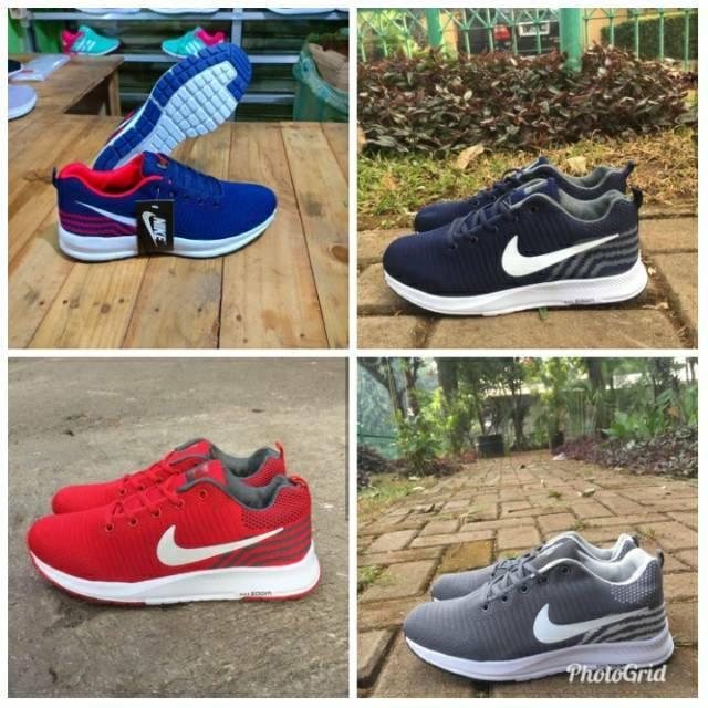 Sepatu Nike Roshe Run Full Black  5c16b1ad5a