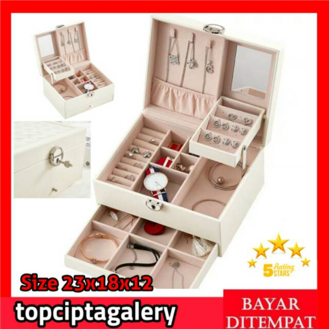 Box Perhiasan / Kotak Perhiasan / Tempat Penyimpanan ...