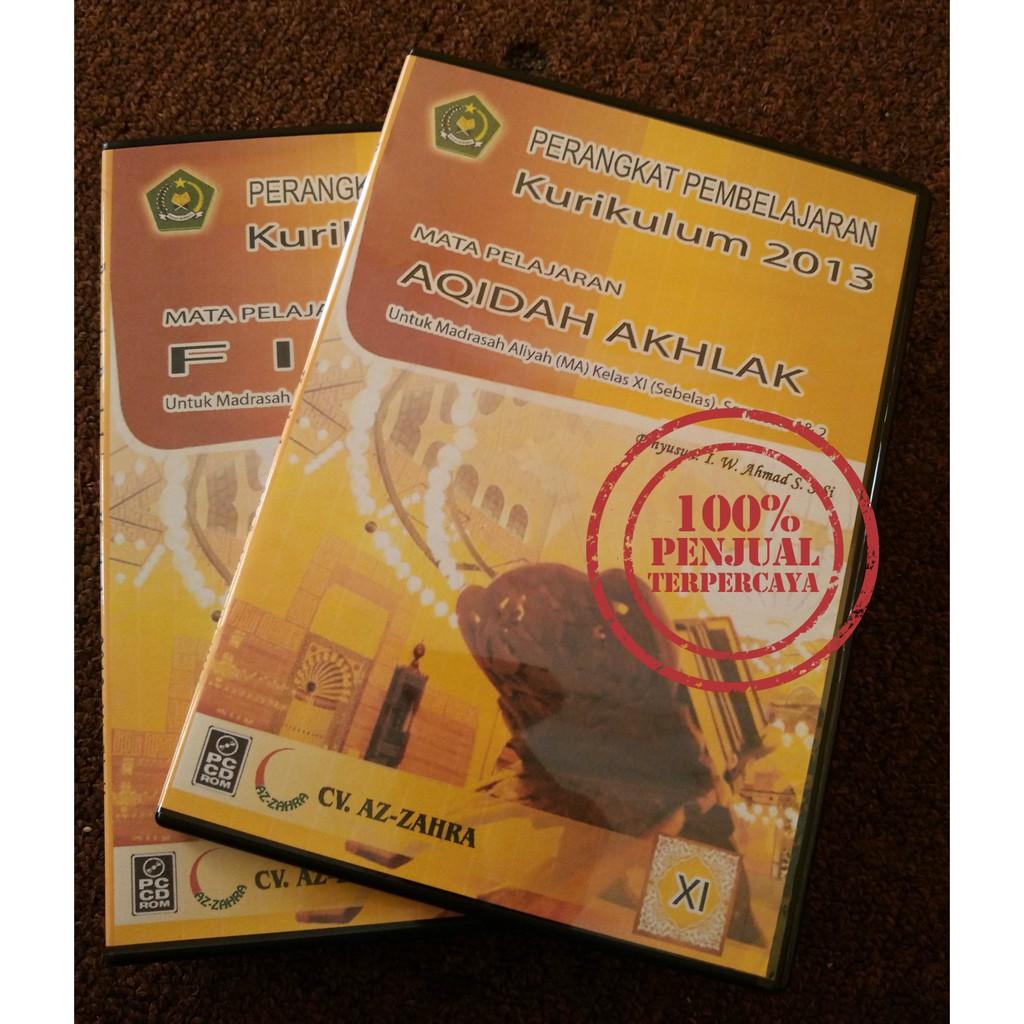Cd Rpp Mapel Aqidah Akhlak Ma Man Mak Kelas 11 Xi K13 Revisi Terbaru Shopee Indonesia