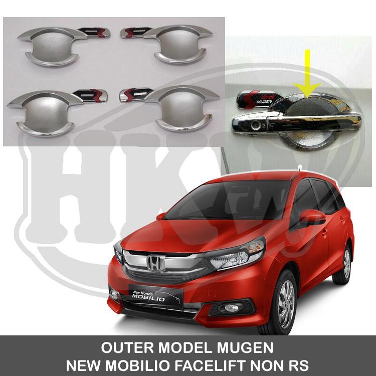 List Body Chrome Honda New Mobilio Facelift Non Rs Shopee Indonesia