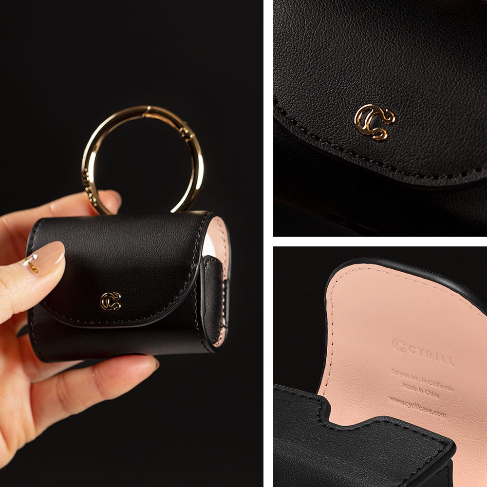 Korea Case Cyrill Untuk Airpods Pro Mini Bag Classic Leather For Apple Airpods Pro Asd00437 Shopee Indonesia