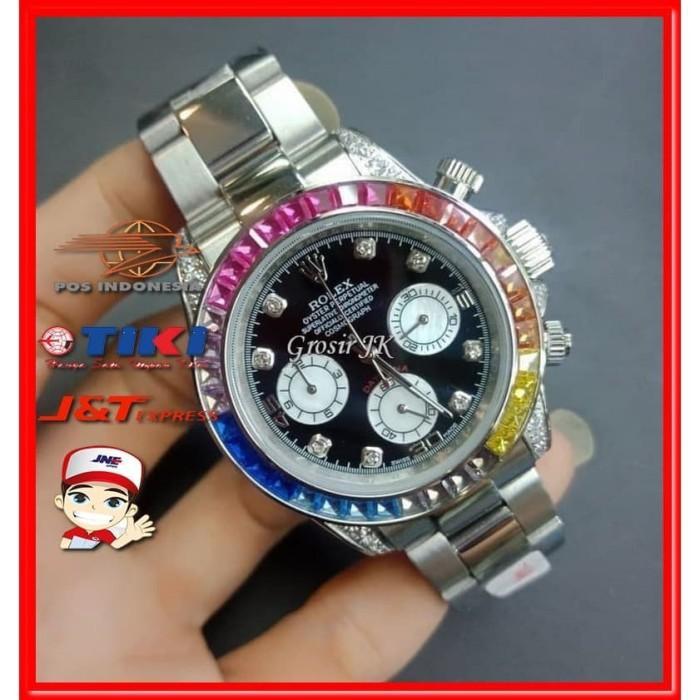 [Jam Tangan] Jam Tangan Rolex Pria | Jam Rolex Cowok Kw Super Premium Grade