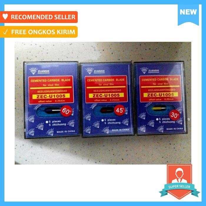 Cutter - Paling Murah Pisau Cutting Isi 5 Pcs / Roland / Jinka / Redsail -