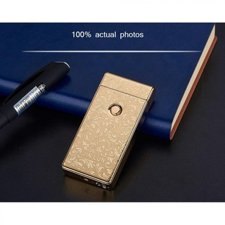 Korek Api Elektrik Pulse Dengan Aluminium Case USB Re ...