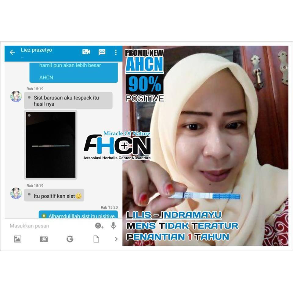 Promil Ahcn 100 Asli Herbal Berkualitas Aman Untuk Pria Wanita Paket Obat Kesuburan Program Hamil Cepat Punya Anak Shopee Indonesia