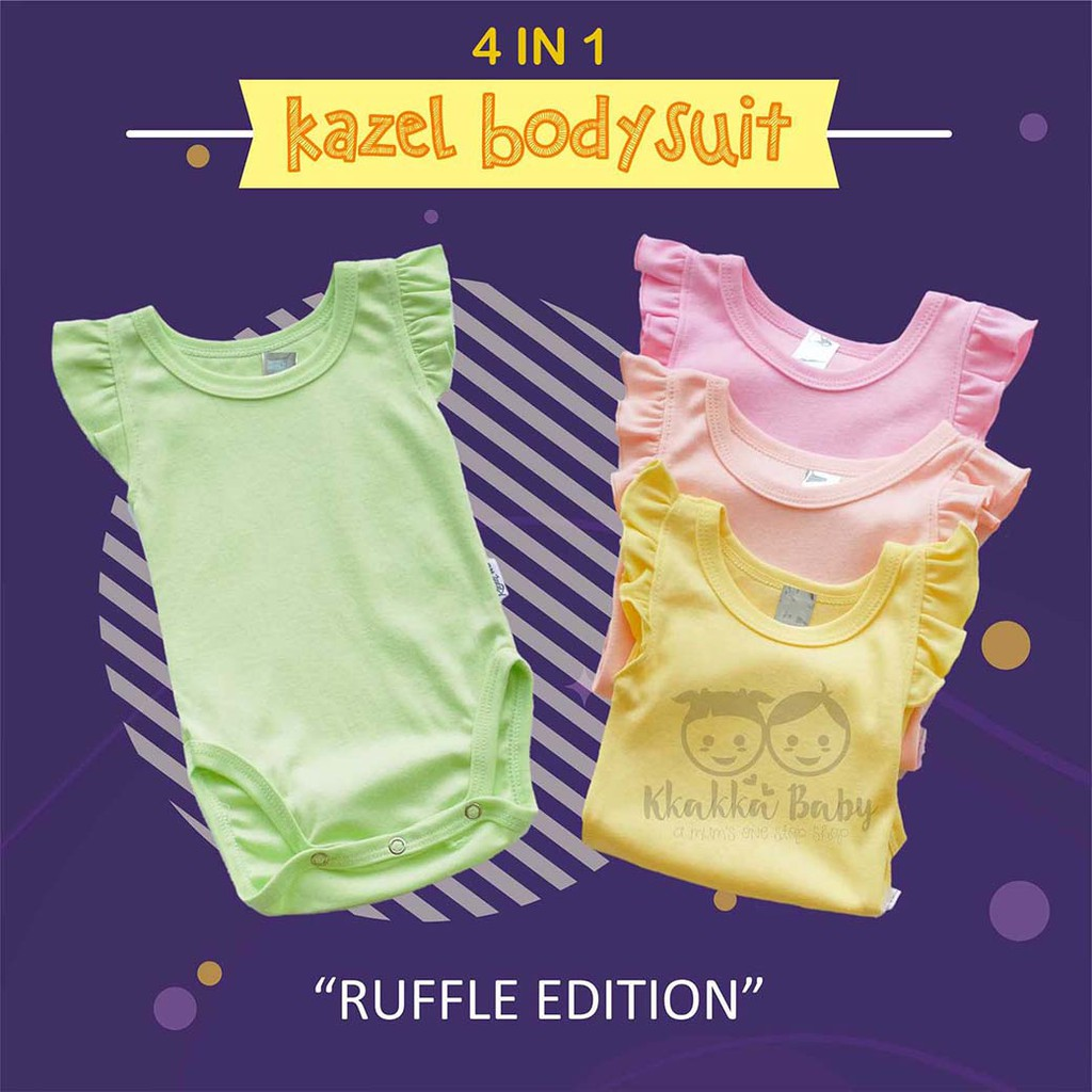 KAZEL Bodysuit Baby Boy Jumper / Jumper 4in1 Bayi Laki Laki | Shopee Indonesia
