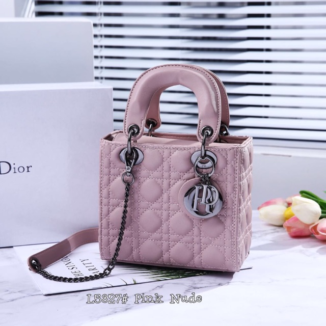 Christian Dior LADY With Box 🎈 5827  aa4a029527