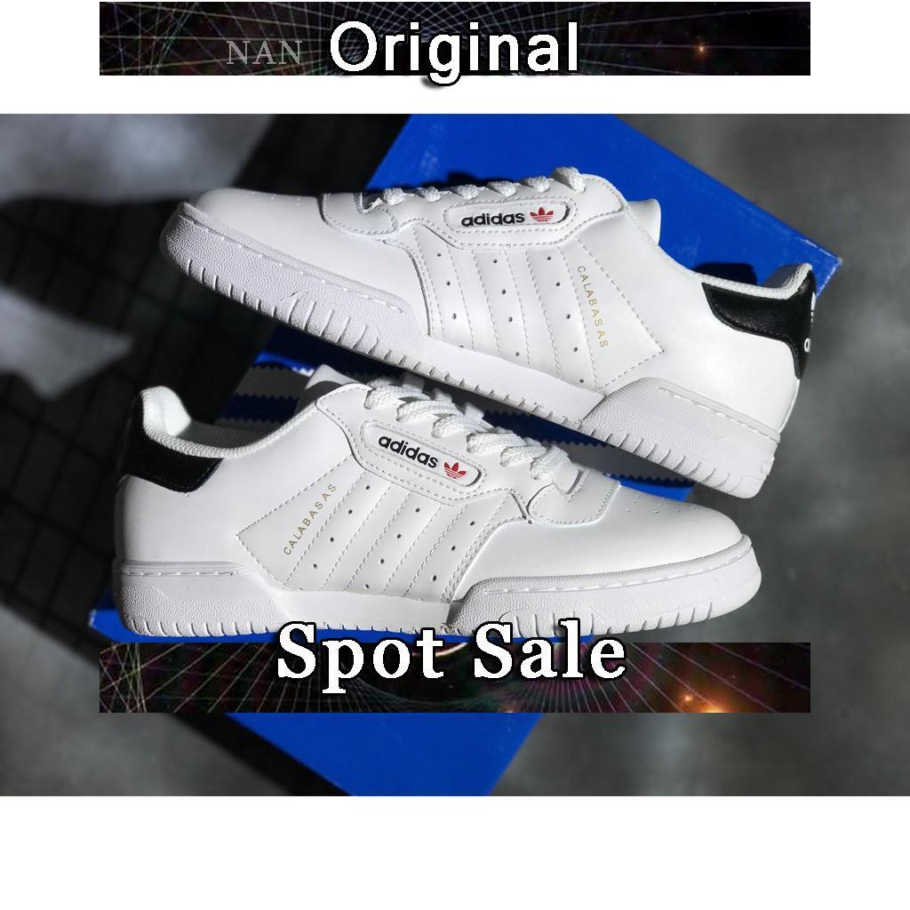 finest selection 6e6e6 e2504 Sepatu Sneakers Desain Adidas Yeezy Kanye Warna Putih Ukuran 36-44 untuk  Pria   Wanita