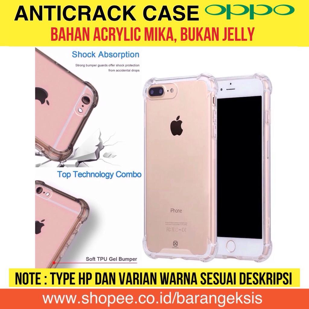 Anti Crack / Anticrack / Casing Oppo / Case Oppo / Anti Shock Fiber | Shopee Indonesia