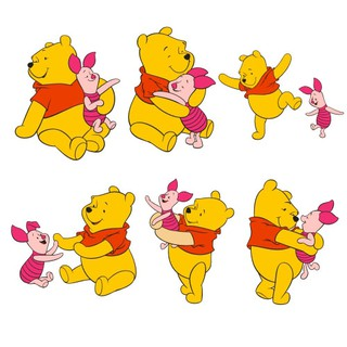 Sticker Cutting Winnie The Pooh Shopee Indonesia