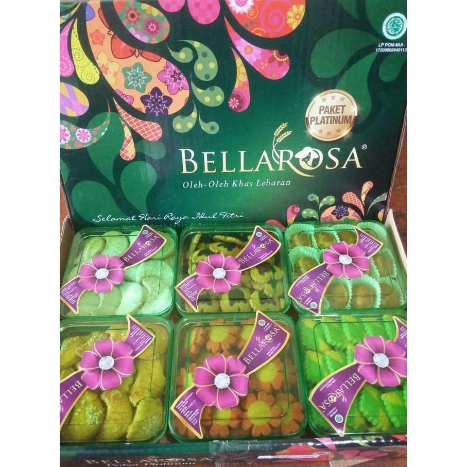 Kue Kering Lebaran Bellaros Dante Ungu Daftar Harga Terlengkap Bellarosa 6in1 Paket Berkah Platinum Belarosa Cemilan Idul Fitri Twins 4syrup 1