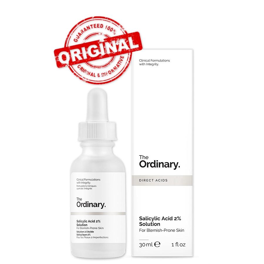 The Ordinary Salicylic Acid 2 Solution 30ml Shopee Indonesia