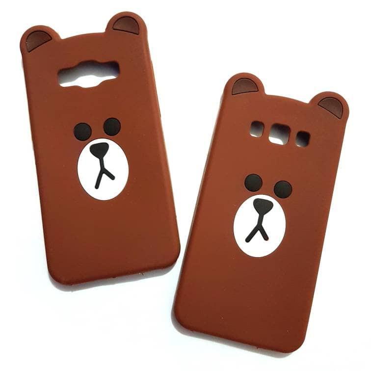 Keren Abis Case Samsung On7 2015 3d Softcase Kartun Thin Slim Line Bear Brown Shopee Indonesia