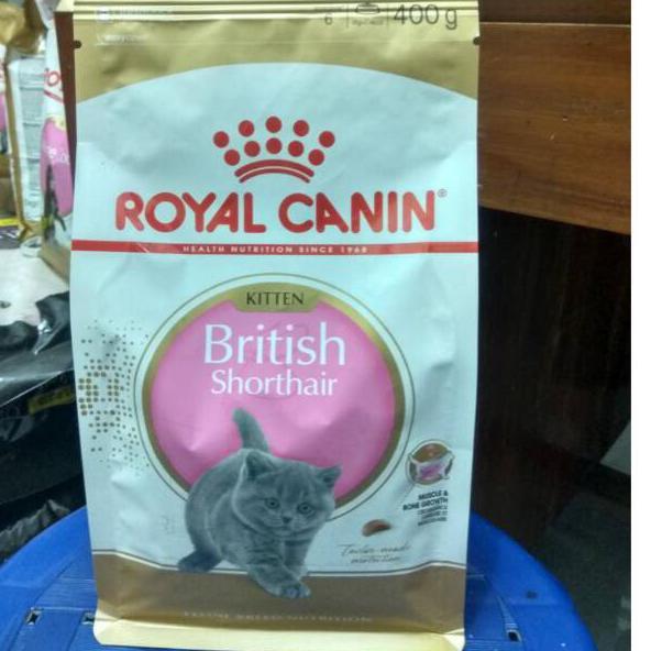 Best Produk Royal Canin Kitten British Shorthair 400gr Freshpack J Kekinian Kirim Langsung Shopee Indonesia
