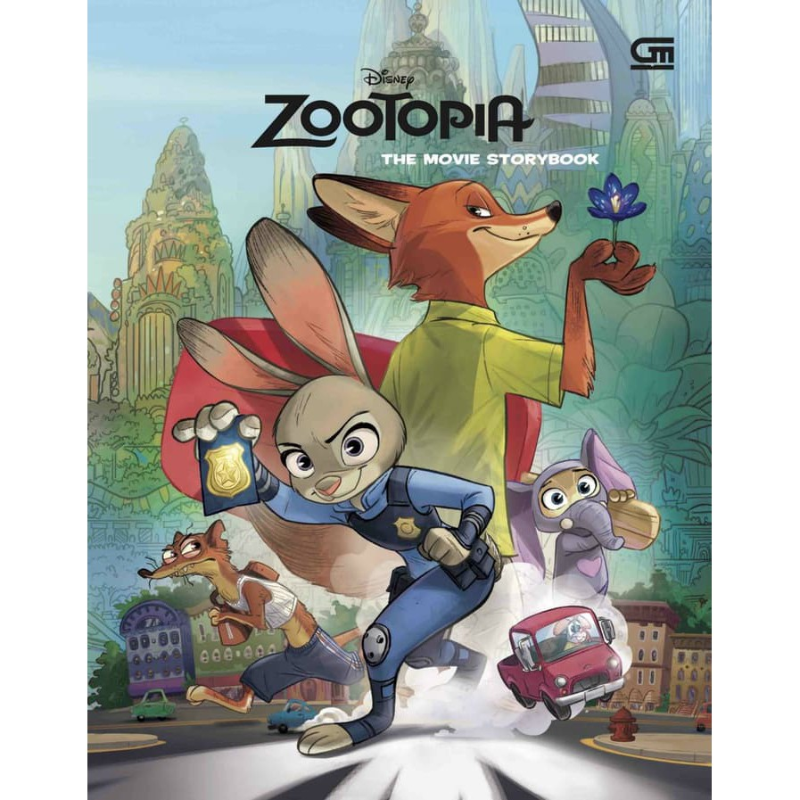 Zootopia The Movie Storybook Shopee Indonesia