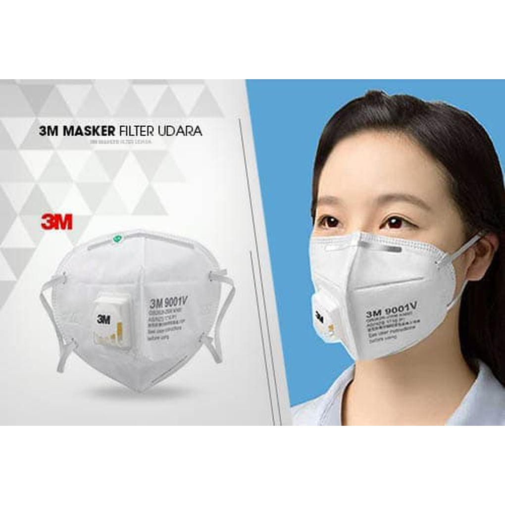 AD-9 Masker Anti Polusi Filter Udara 3M Masker Mulut Motor Mask 3M   Shopee Indonesia