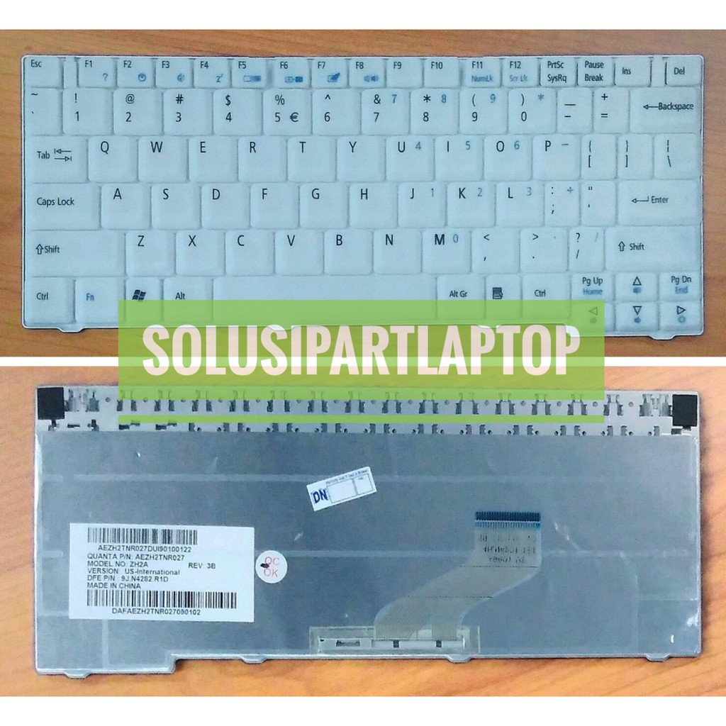 Keyboard Acer V5 171 121 123 131 756 725 Ao756 Ao725 Laptop Aspire One Shopee Indonesia