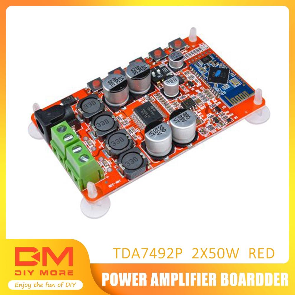 TDA7492P Stereo Amplifier Board Wireless Bluetooth 4.0 Audio Receiver Module DC 8-25V Input Voltage