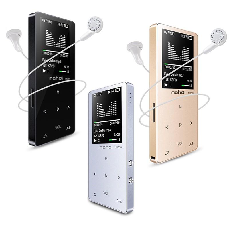 Bluetooth HI-FI Metal MP3 Music Player Portable Audio 8GB with Built-in FM Radio