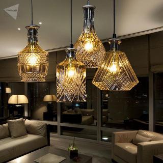 Heaven Adjustable Hanging Lamp Decoration Light Holder Ceiling Crystal Vintage
