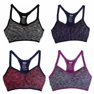 6692eed859 Pakaian Dalam Wanita  Bra Sport Busa Stretch untuk Yoga Olahraga ...